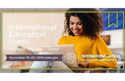 International Education Week: Engaged • Resilient • Global