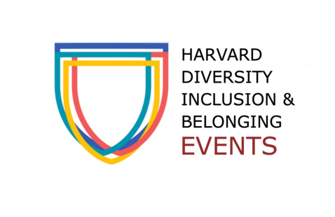 Harvard Diversity, Inclusion, and Belonging events logo