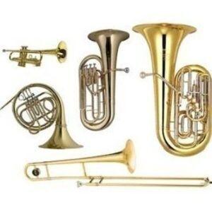 trumpet, french horn, trombone, tuba, baritone