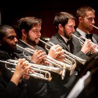 UAB Trumpet Ensemble, Trombone Choir, and Brass Quintet Pop-up Concert Performance