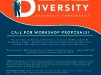 17th Annual Diversity Leadership Conference: Workshop Proposal Submissions Open