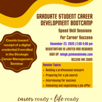 Graduate Student Career Development Bootcamp