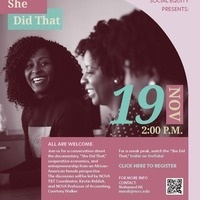 She Did That - Documentary Discussion