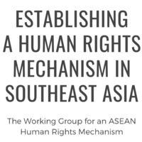 Establishing a Human Rights Mechanism in Southeast Asia
