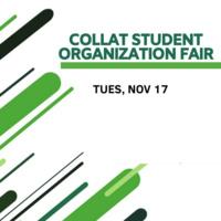 Collat Student Organization Fair