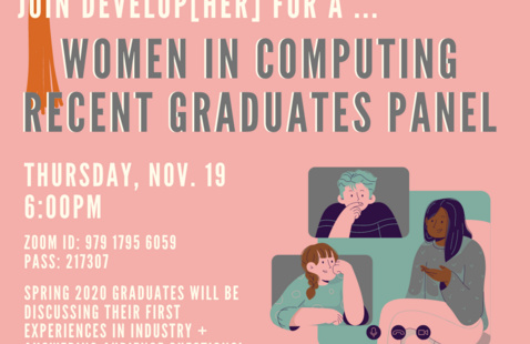 Women in Computing Recent Graduates Panel