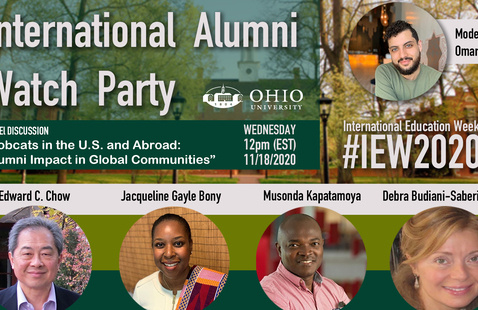 Encore Viewing: Bobcats in the U.S. and Abroad: Alumni Impact in Global Communities