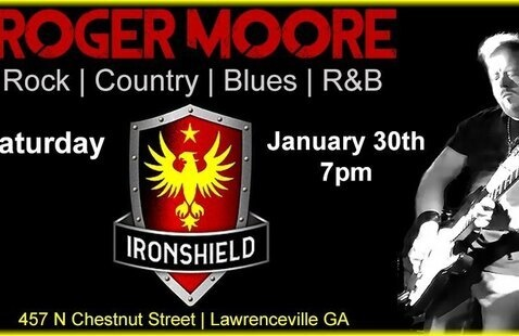 Roger Moore LIVE at Ironshield Brewing