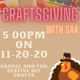 SAA Presents: Craftsgiving