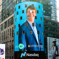 Startup Academy interns featured on Nasdaq Tower in Times Square