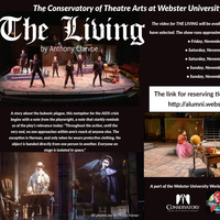 The Conservatory of Theatre Arts at Webster University presents  The Living By Anthony Clarvoe - A part of the Webster University World AIDS Day 2020 Virtual Celebration