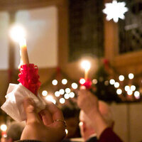 Lovefeast Candle Distribution