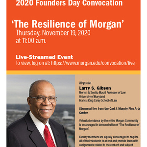 Founders Day Convocation with Keynote Speaker Larry S. Gibson