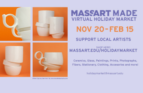 MassArt Made Holiday Sale