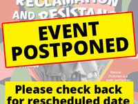 POSTPONED - Reclamation and Resistance: An Evening of Poetry