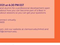 MHRD Professional Development Open House
