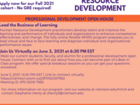 MHRD Professional Development Open House