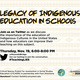 Legacy Of Indigenous Education in Schools