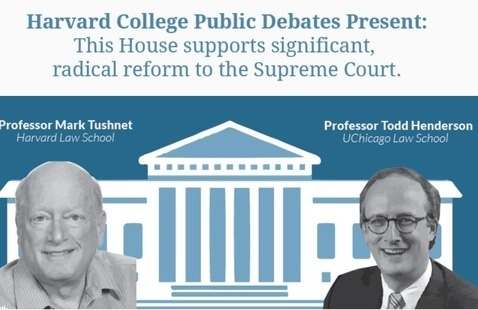 HCDU Presents: SCOTUS Public Debate