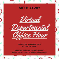 Art History Office Hour for Prospective Students