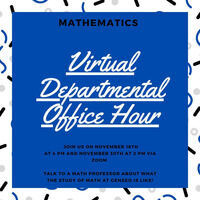 Mathematics Office Hour for Prospective Students