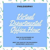 Philosophy Office Hour for Prospective Students