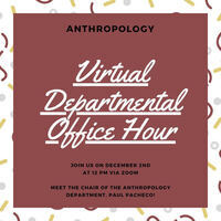 Anthropology Office Hour for Prospective Students