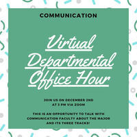 Communication Office Hour for Prospective Students