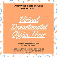 Languages and Literatures Office Hour for Prospective Students