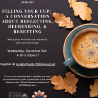 Filling Your Cup: Reflect, Refresh, Reset  | Center for Gender Equity