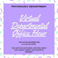 Psychology Office Hour for Prospective Students