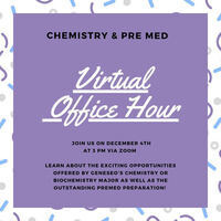 Chemistry & PreMed Office Hour for Prospective Students