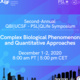 QBI/PSL-QLife Symposium: Complex Biological Phenomenon and Quantitative Approaches