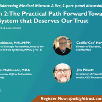 The Practical Path Forward Towards a Healthcare System that Deserves Our Trust