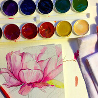 *ONLINE* Watercolor II for Adults