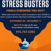 CAPS presents Stress Busters