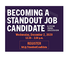 Becoming a Standout Job Candidate