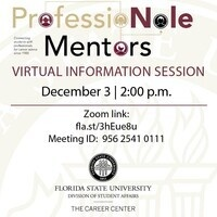 ProfessioNole Mentors Info Session