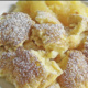 Kaiserschmarrn, a popular egg dish in South Germany and Austria