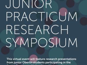 flyer for Junior Practicum Research SYmposium