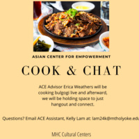 Asian Center for Empowerment Cook & Chat