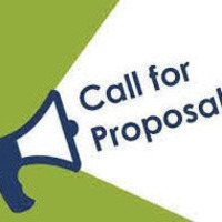 Call for proposals coming from a megaphone