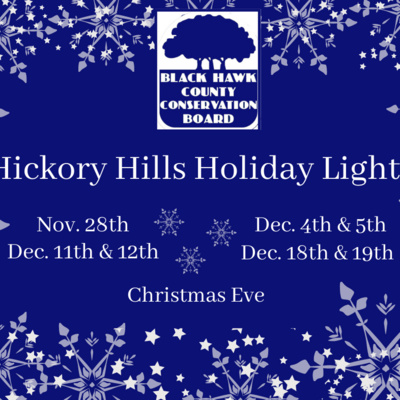 Black Hawk County Conservation's 1st Annual Hickory Hills ...