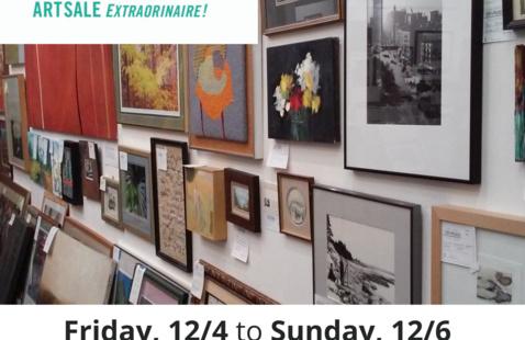 CAP-a-Palooza Art Sale Extraordinaire! Fundraiser