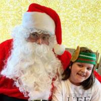 Safe Distancing Santa Visit