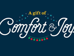 Catholic Charities gives the gift of Comfort & Joy