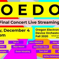Oregon Electronic Device Orchestra (OEDO) - Live-stream