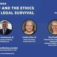 COVID-19 and the Ethics of Legal Survival CLE/CPE Webinar