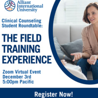 Student Roundtable: The Field Training Experience Webinar