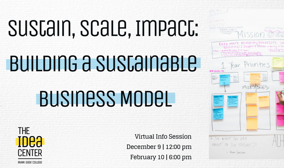 Sustain, Scale, Impact: Building a Sustainable Business Model